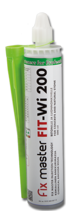 FIT-Wi 200 winter resin for concrete and natural stone